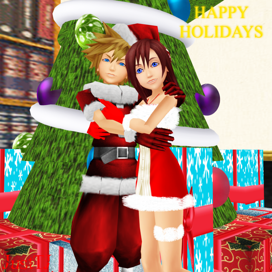 MMD_Happy Holidays by JustTJ