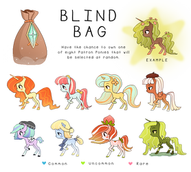 Patron Ponies: Batch 1 REVEAL!!
