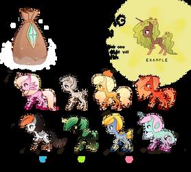 Patron Ponies: Sea Edition REVEAL!!