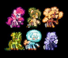 Pony Adopts - Rainbow [2/6 OPEN!]