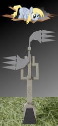 Half-Quake Ambience Windmill + Derpy by Juicy-Apple