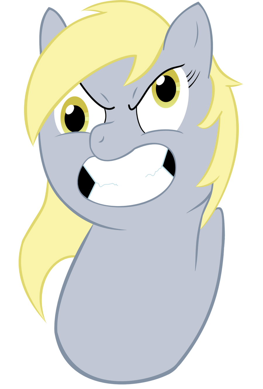 Derpy worm by Juicy-Apple