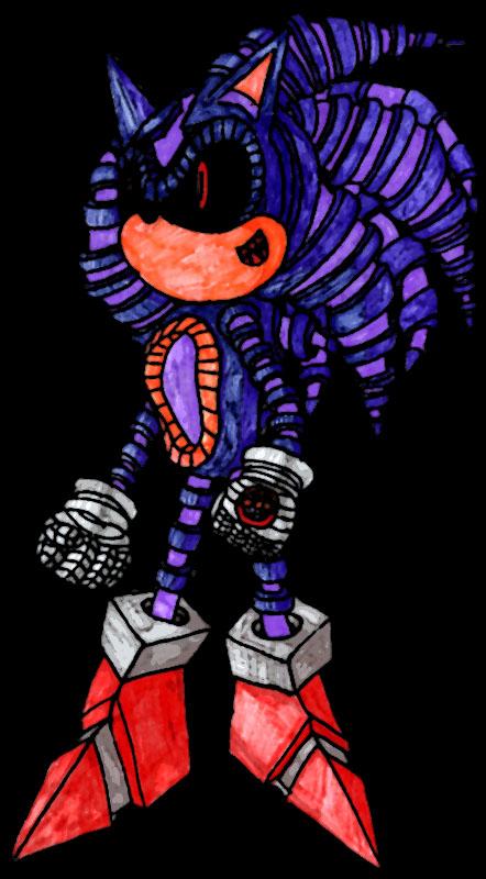 Roboticized Sonic By Stitch62651 On Deviantart