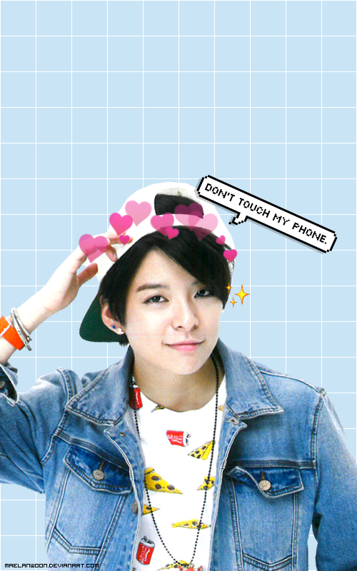 Wallpaper Amber Dont Touch My Phone By Maelanwoon On