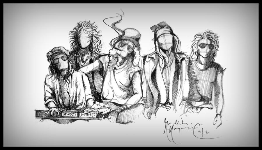 Guns N' Roses by archirsn