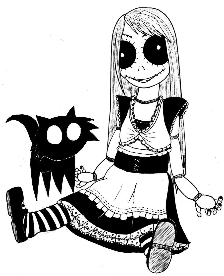 Scary Doll by SamSamsson on DeviantArt