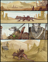 Powder Burn Page 1 by Ashpond