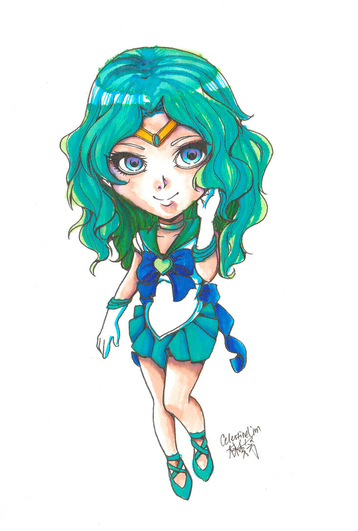 + : FANART - Sailor Neptune : + by FrogHime