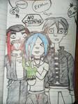 Sera and Friends by TwiztidTiya