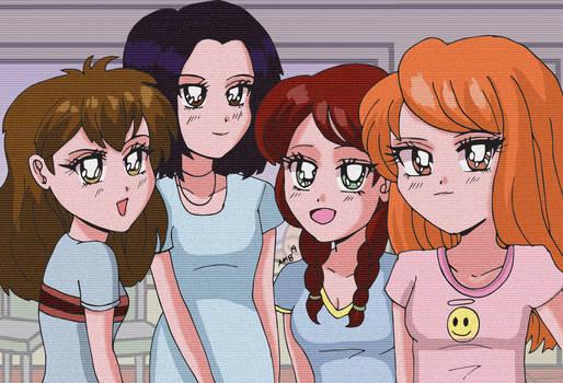Fashion Club - 90s Anime Style