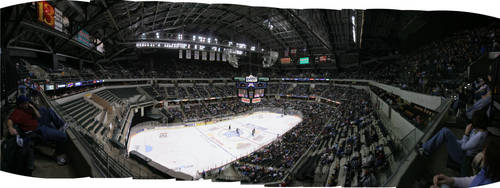Hockey at Conseco by JohnTKnowles