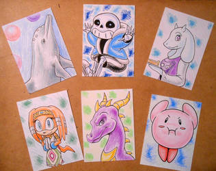 Artcards batch2 by Foxbeast