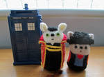 Doctor Who: Roberts!Master and Chang Lee Kittens by fourthimbles