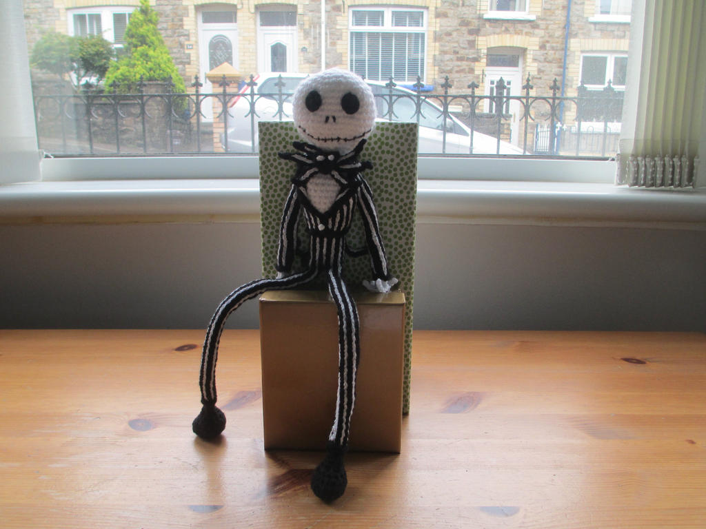 Jack Skellington Doll Knitting Pattern : Nightmare Before Christmas: Jack Crochet Doll by fourthimbles on DeviantArt