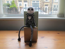 Nightmare Before Christmas: Jack Crochet Doll by fourthimbles