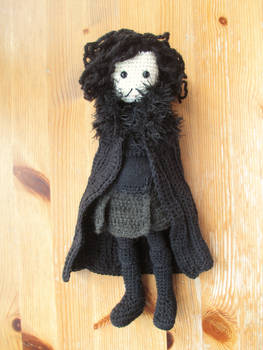 Game of Thrones: Jon Snow Crochet Doll