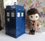 Mini 11th Doctor Crochet Doll by fourthimbles