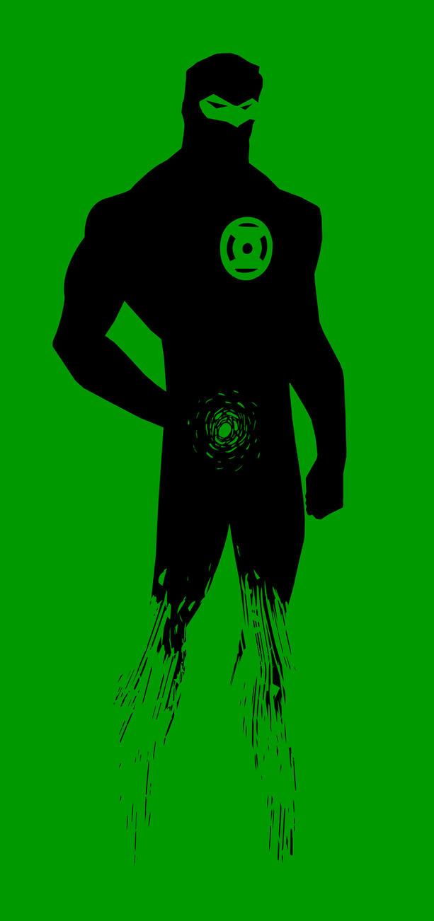 Green Lantern by porojj
