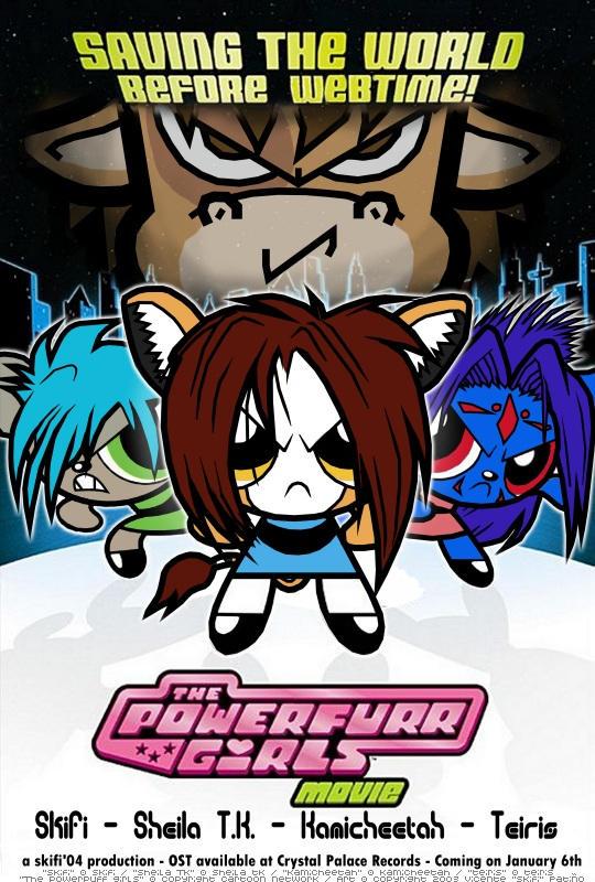 The Powerfurr Girls by skifi