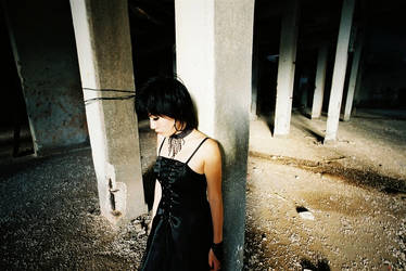 Black Dress by usual-album