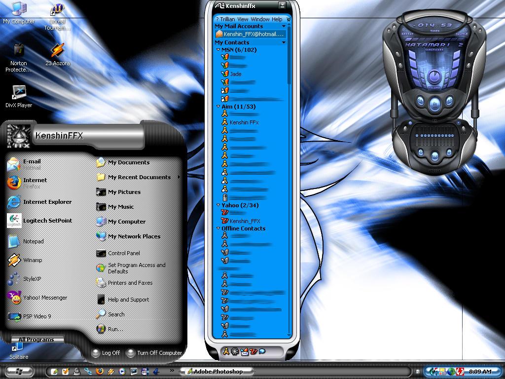 Tribal Clash Sub Zero Desktop by kenshinffx