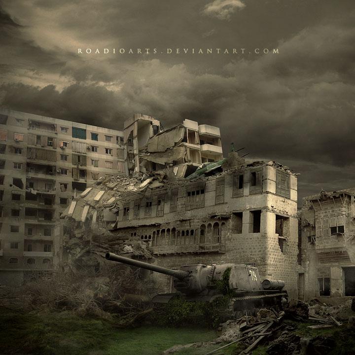Ruins of War by RoadioArts