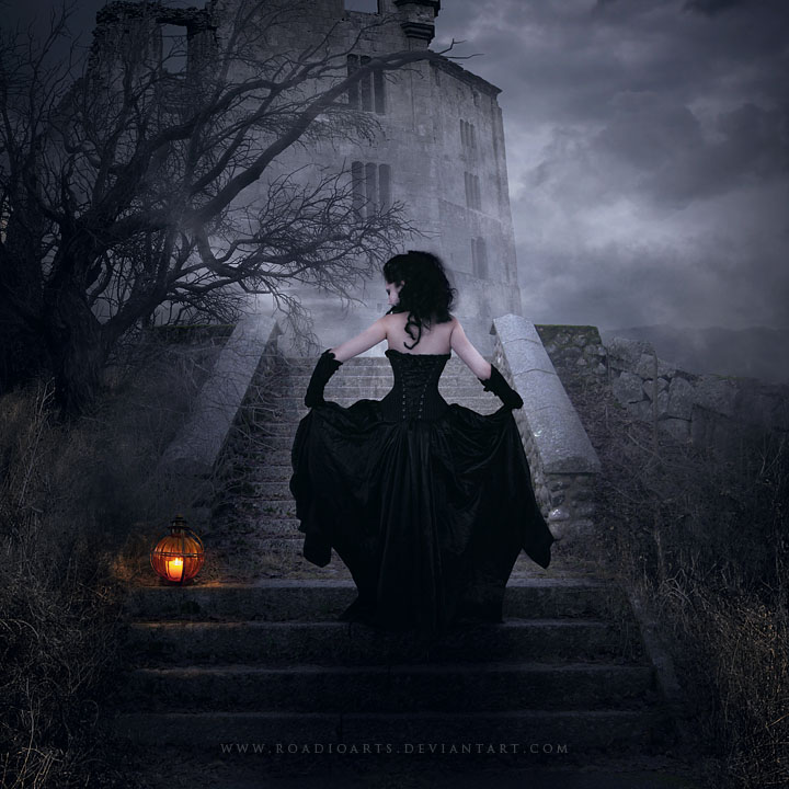 The Black Witch By RoadioArts On DeviantArt