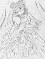 Chipmunk bride by Rabbette