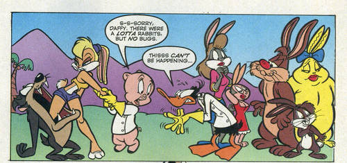 A bunch a bunnies by Rabbette