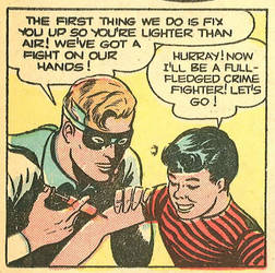 The Golden Age of comics was a weird time 30