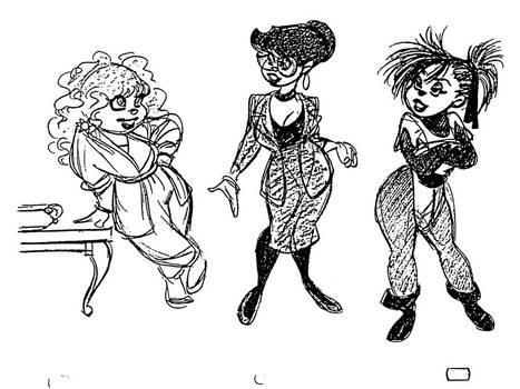 Adult Chipettes, revisited