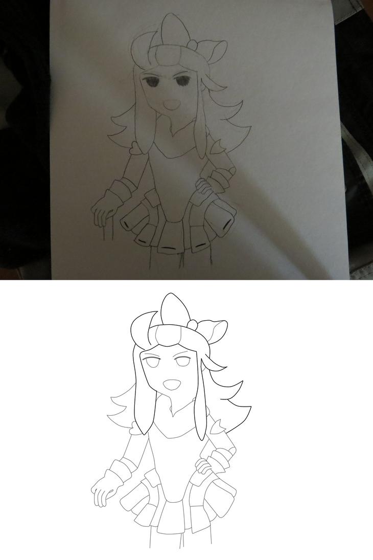 Edea Lee Drawing and Lineart by LegolasGimli
