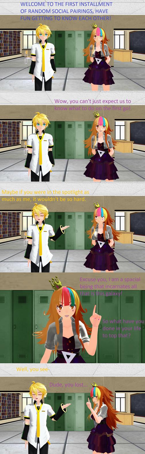 Vocaloid School Life: Arc 8 Episode 1 by LegolasGimli