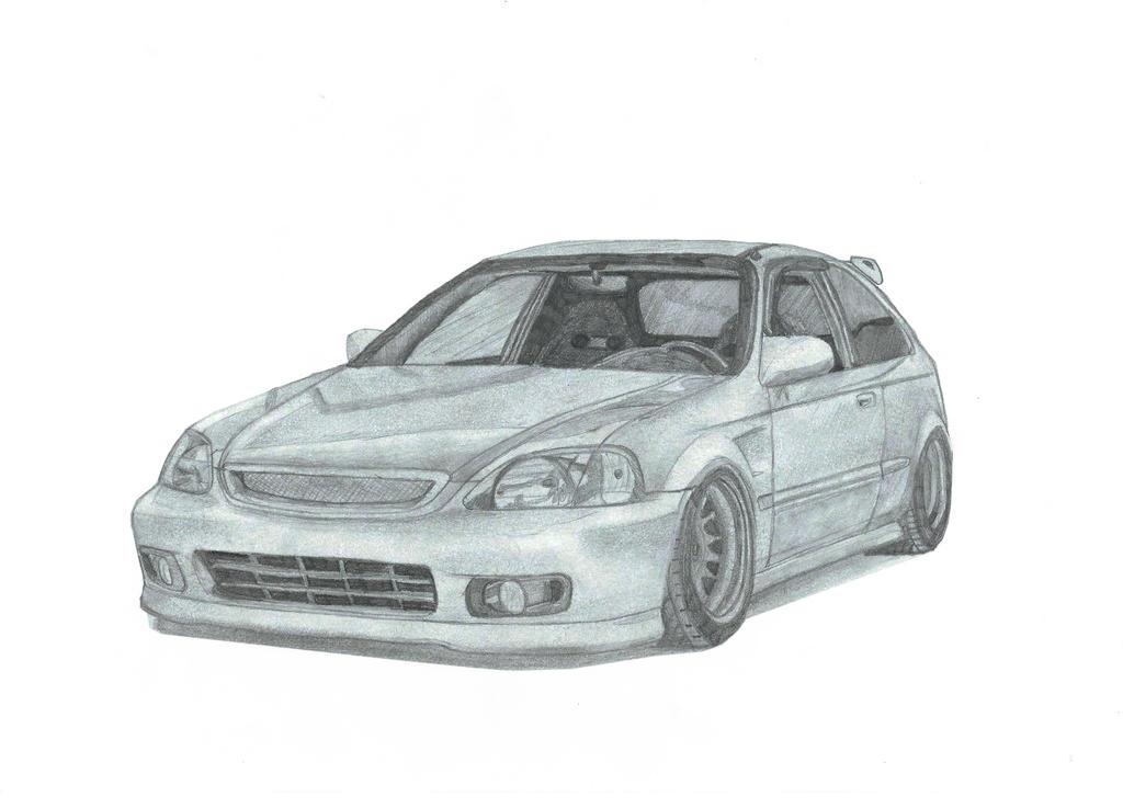 Honda Civic EK by Damon-jdm on DeviantArt