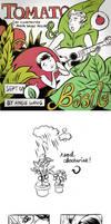 Mini-Comic: Tomato And Basil by okchickadee