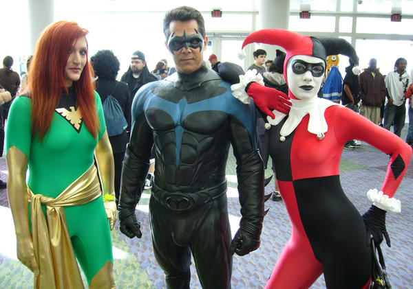 Nightwing at Megacon by Rage126