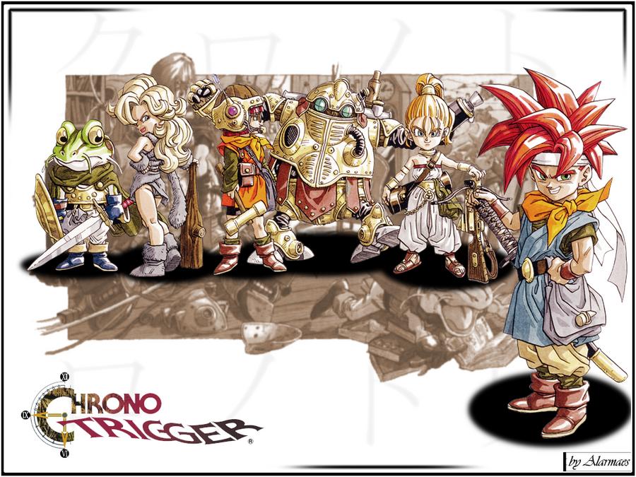 Chrono Trigger Wallpaper by Alarmaes on DeviantArt