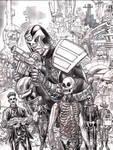 Dredd Cover 2000ad 1881