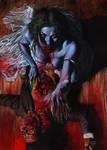 vampire and victim cover art by GlennFabry