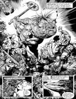 slaine warp page by GlennFabry