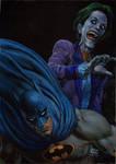 Batman  joker commission piece