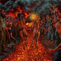 The Hickey Underworld album cover by GlennFabry
