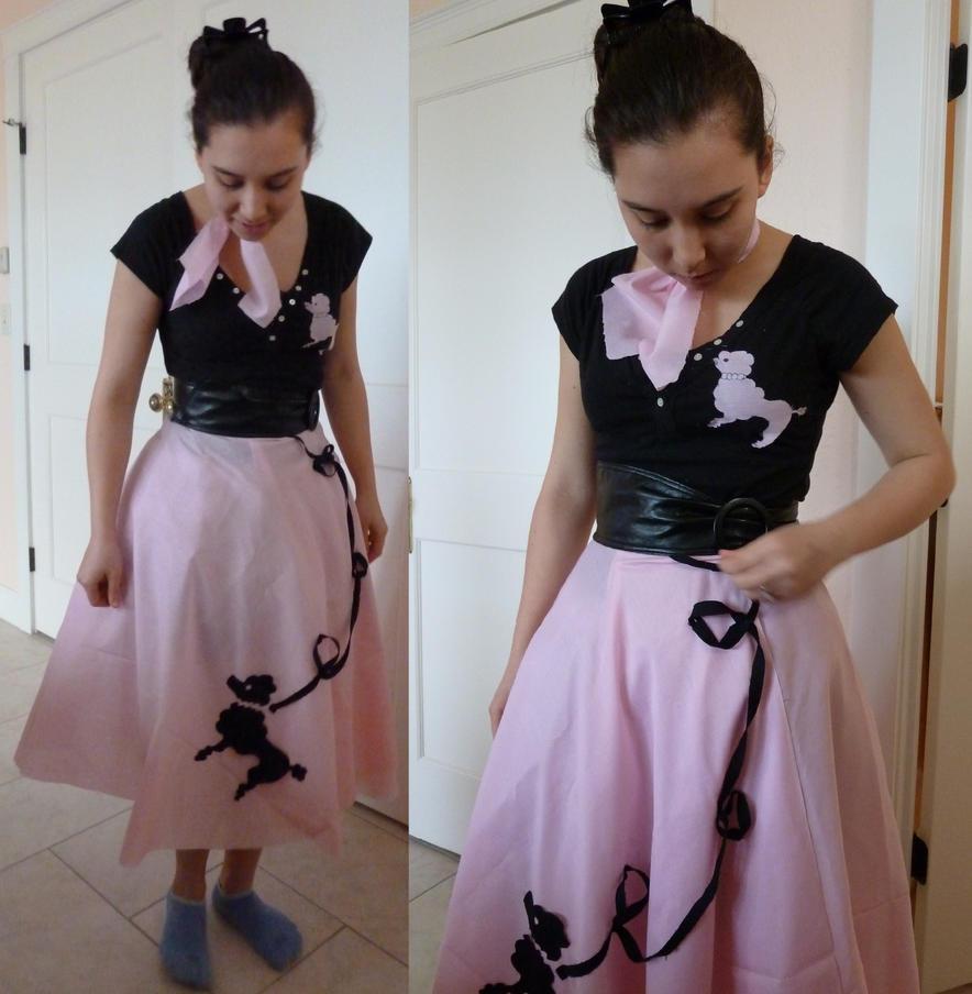 50s Poodle Skirt By Doganie