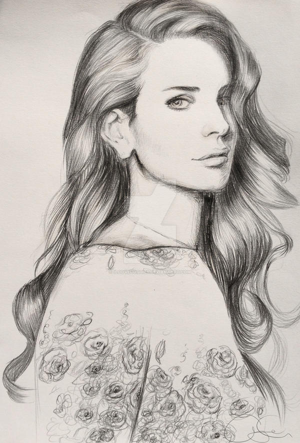 Lana Del Rey by iloovedoggies