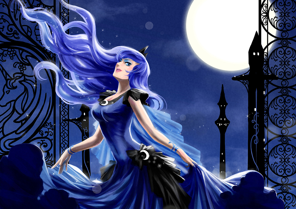 Luna by heavelle