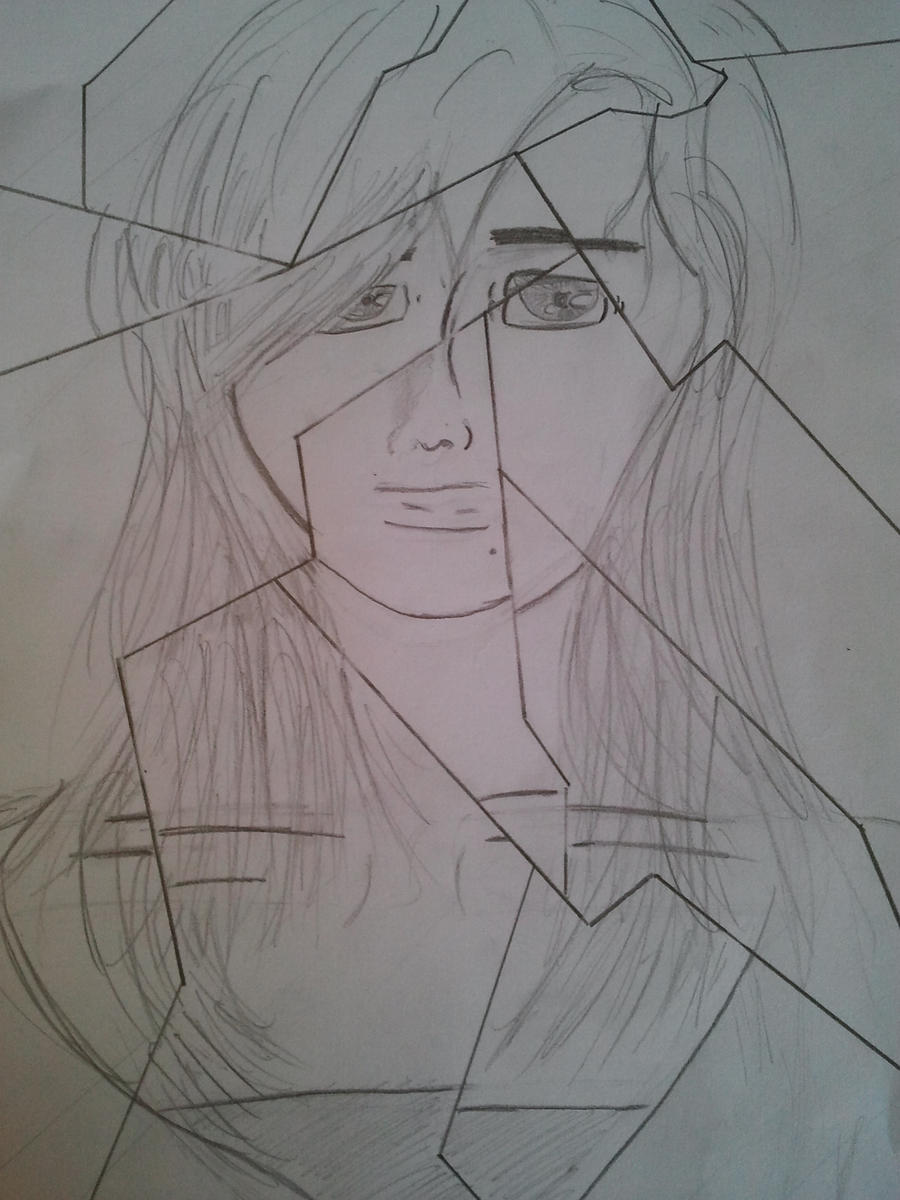 Cracked Mirror By Awakenedearth On Deviantart