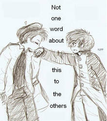 Not one word by yaoilovefilledperson