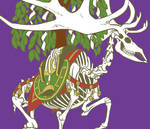 Sacred deer by ruinsayaemon