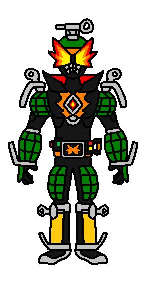 Kamen Rider Fuse: Grenade Bomb by alex20191 on DeviantArt