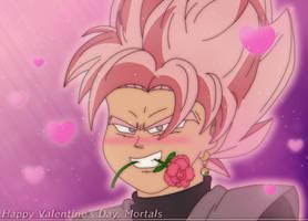Goku Black's Valentine for you